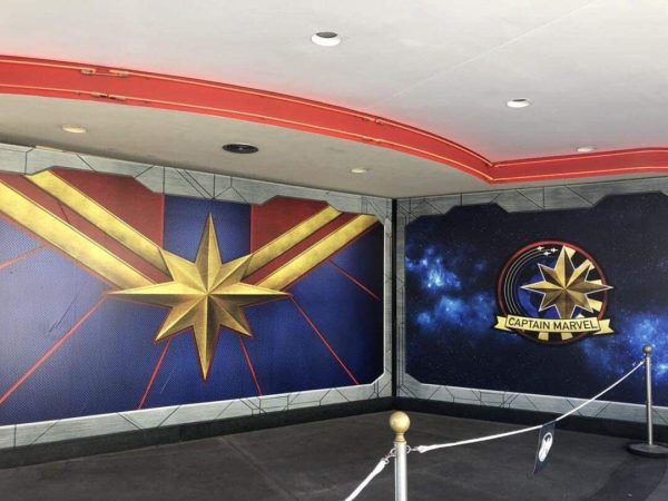 Check Out the Captain Marvel Meet and Greet Location at Disney's California Adventure