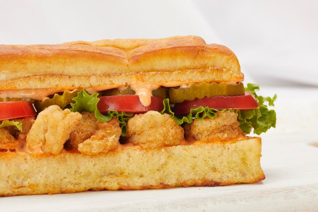 Earl of Sandwich Debuts Shrimp Po Boy