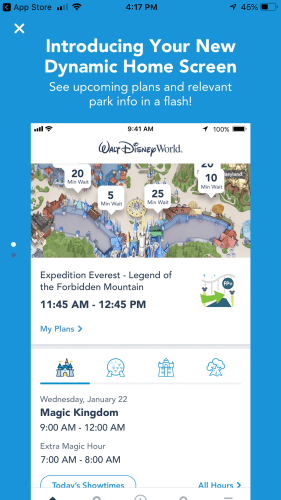My Disney Experience Updated, More User Friendly 2
