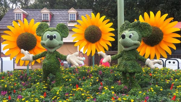 Epcot's Flower and Garden 2019 Topiaries