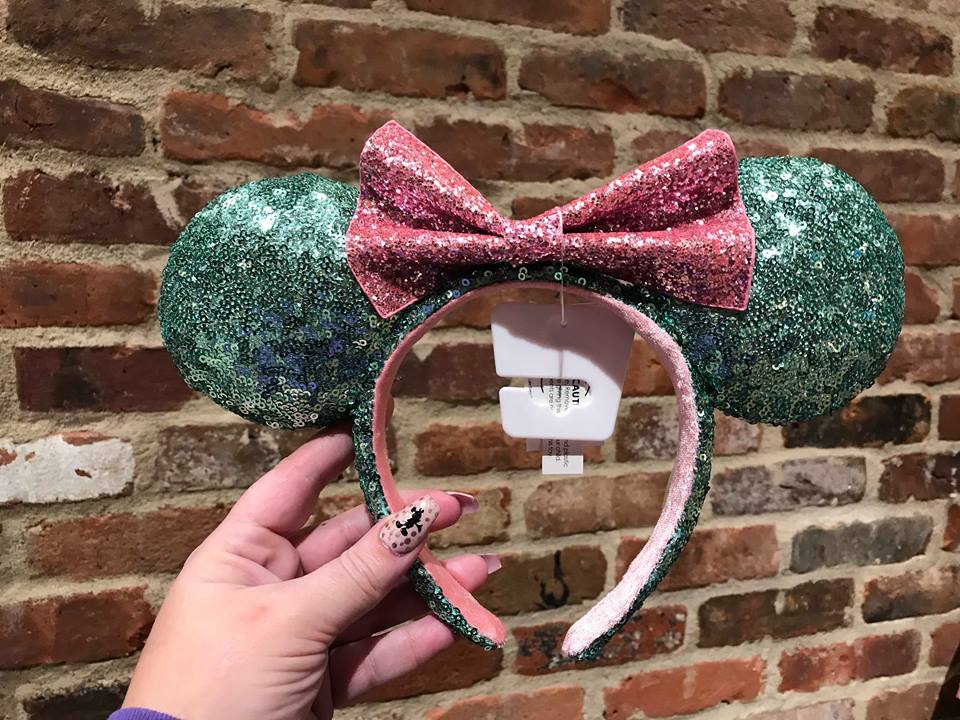 Minty Minnie Mouse Ears Are Fresh and Cool For Spring