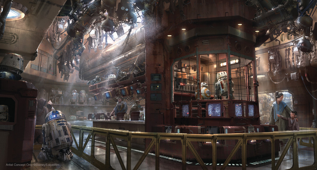 A Guide to Making Your Own Droid at Star Wars: Galaxy's Edge