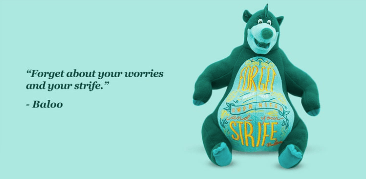 This Month's Disney Wisdom Collection Is All About The Bare Necessities