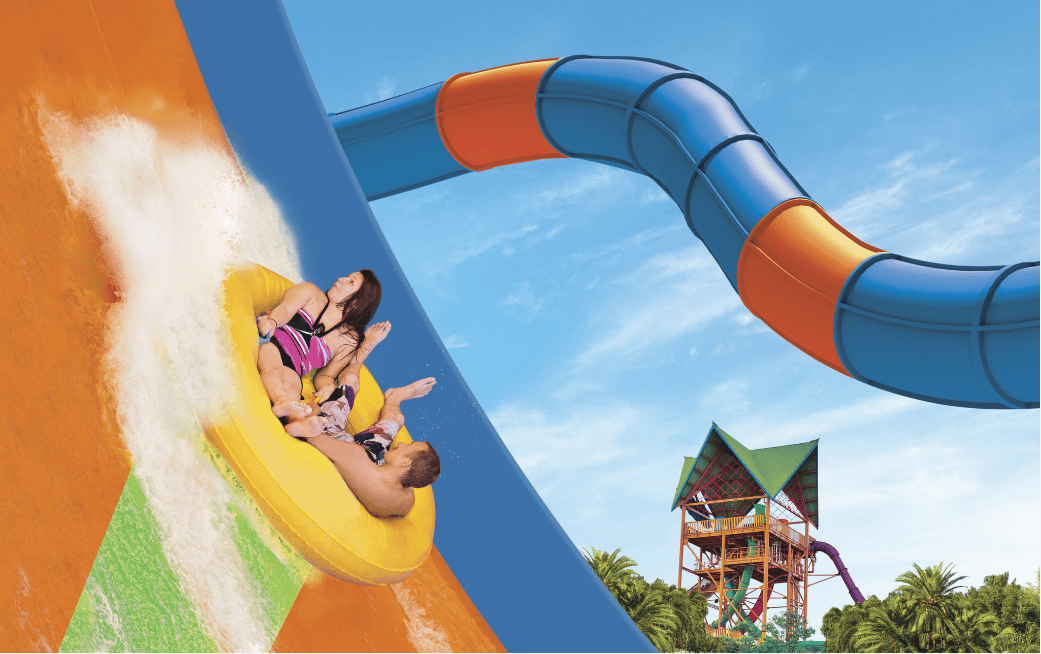 Take a Ride on the New KareKare Curl at Aquatica Orlando