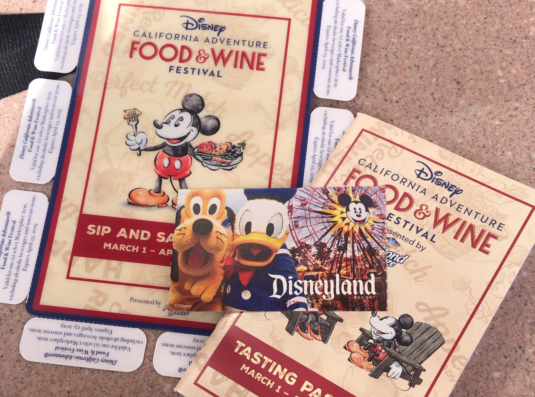 Disneys California Adventure Food and Wine Sip and Savor