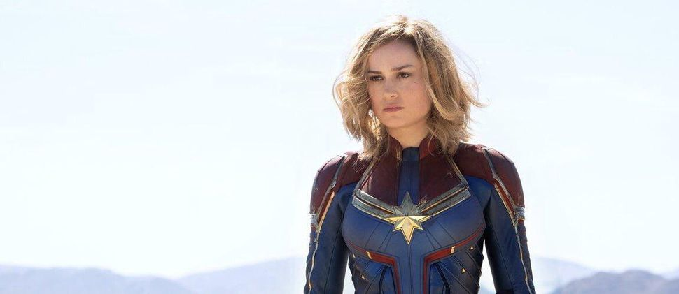 Captain Marvel blasts through box office records on opening weekend!