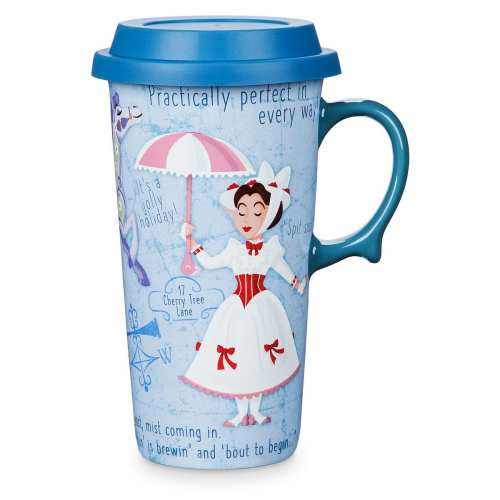 Get Your Morning Started With These Fun Disney Travel Mugs 3