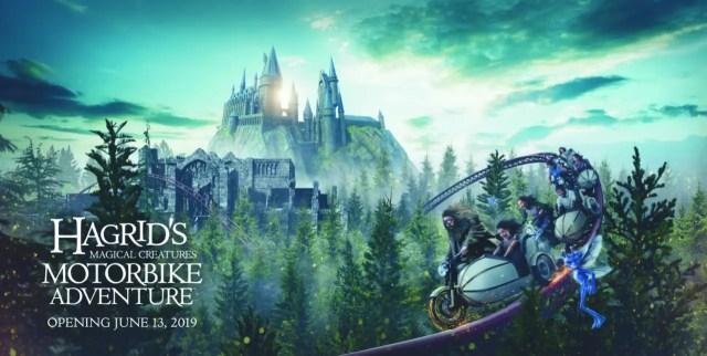 News on Hagrid's Magical Creatures Motorbike Adventure 1