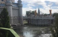 Moat Near Cinderella's Castle Drained In Preparation For Construction