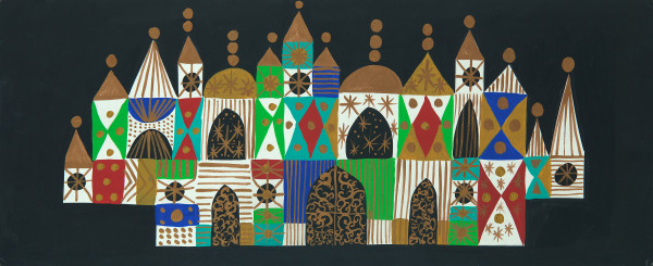 Disney Artist Mary Blair Featured in a Museum in California.