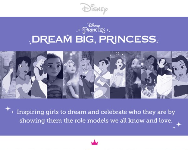 See The Latest Video For Dream Big, Princess