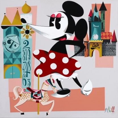 WonderGround Gallery Showcasing Artists in March at Downtown Disney.