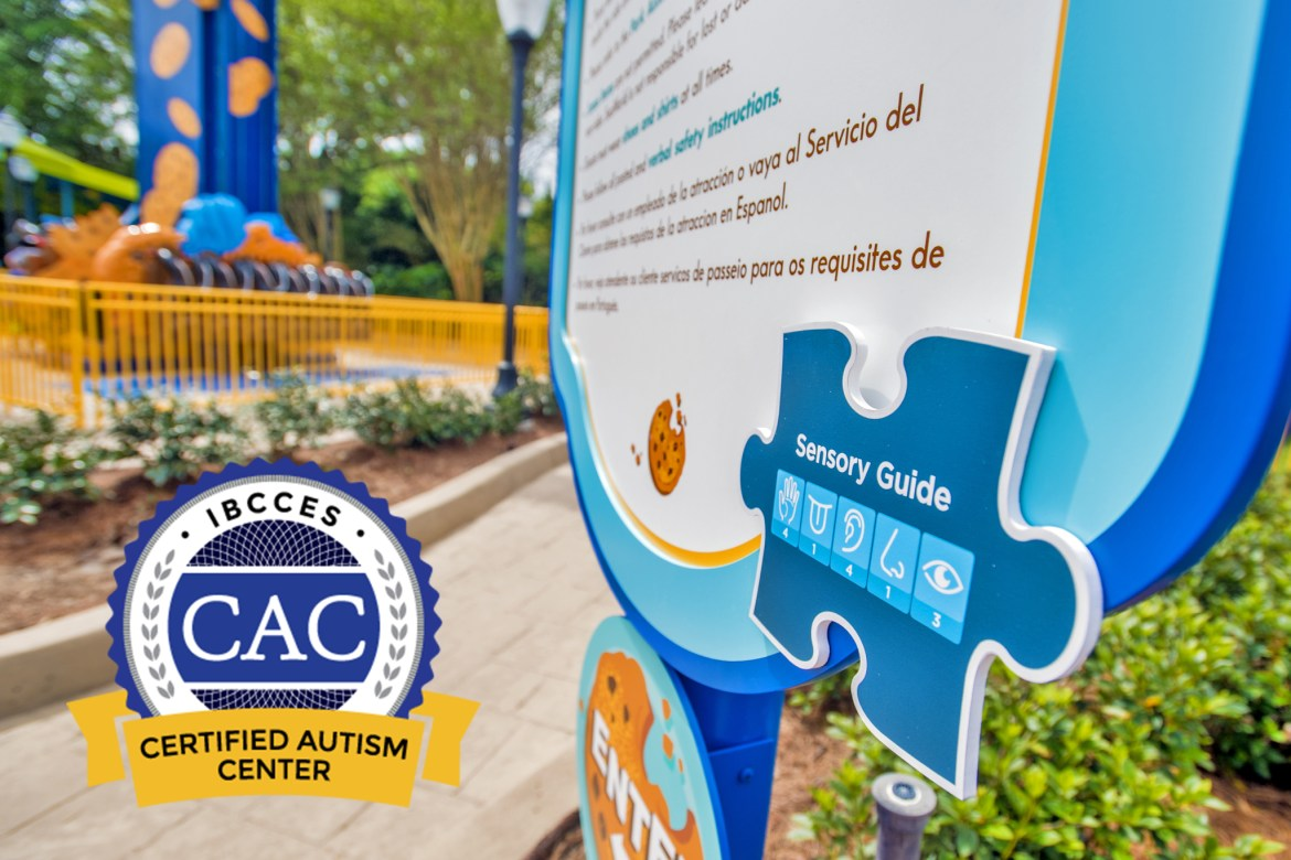 SEAWORLD ORLANDO IS NOW A CERTIFIED AUTISM CENTER