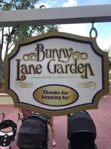 Mr. & Mrs. Easter Bunny at Magic Kingdom! 2