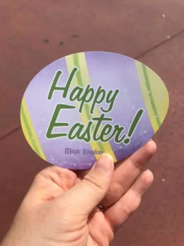 Mr. & Mrs. Easter Bunny at Magic Kingdom! 3