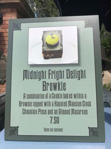 Haunted Mansion Specialty brownie will scare up your appetite 2