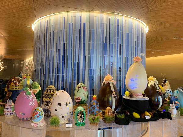 2019 Easter Egg Display At Disney's Contemporary Resort