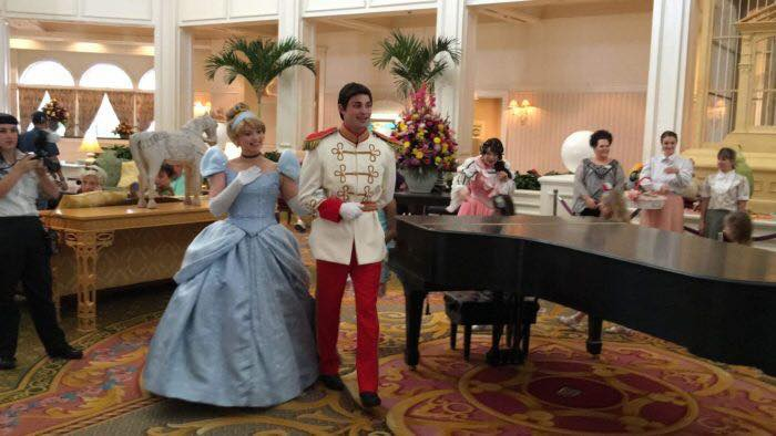 The Princess Promenade is on Hiatus at the Grand Floridian Resort & Spa