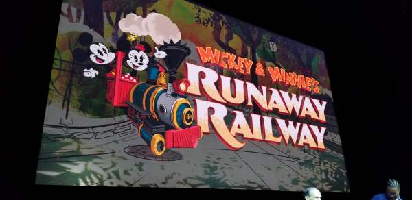 Concept Art for Mickey And Minnie's Runaway Railway Released
