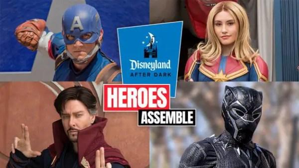 Disneyland After Dark: Heroes Assemble
