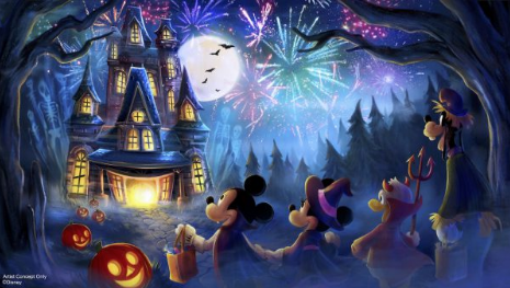 New Fireworks Show is Coming to Mickey's Not So Scary Halloween Party