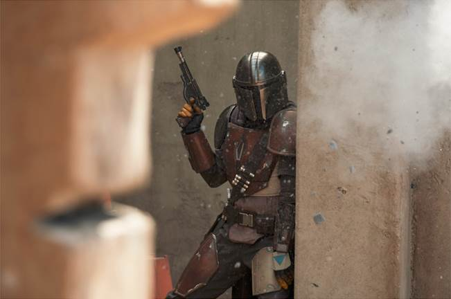 Early Look at the First Ever Live Action Star Wars Disney+ Series, THE MANDALORIAN