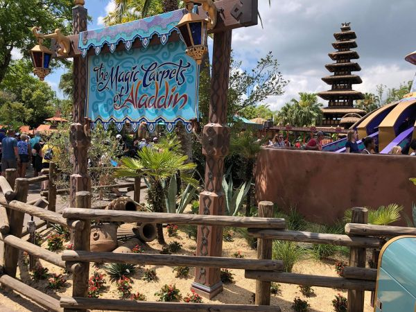 Camel Near The Magic Carpets Of Aladdin Is Missing