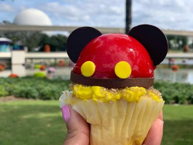 Mickey Cupcake Found At Epcot