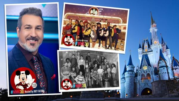 Experience the Magic of the Mickey Mouse Club 30th Reunion with Joey Fatone.