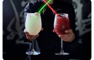 Morimoto Asia is Offering Dark Side and Light Side Margaritas.