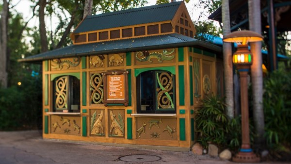 Newly Updated Menus at Disney's Animal Kingdom Kiosks.