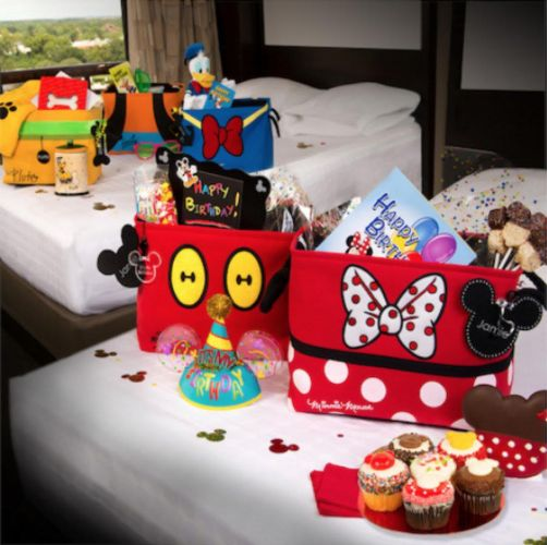 New In Room Mickey & Friends Ultimate Birthday Celebration Package Available at WDW