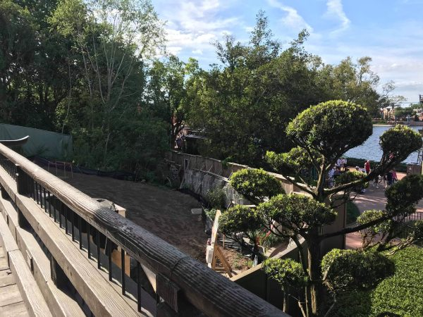 Construction Update: New Dining Location Coming to Epcot's Japan Pavilion