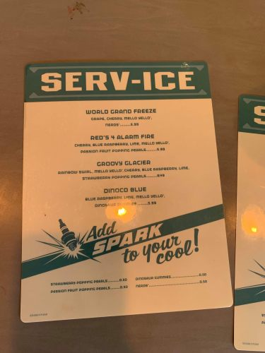 4 New Drinks Available from Newly Opened Serv-Ice Location in Cars Land 5