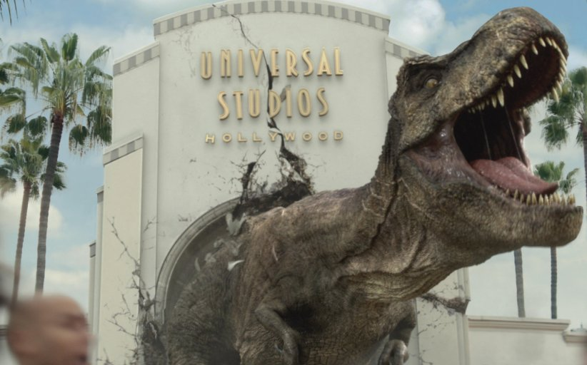 Jurassic World Dinosaurs Take Over Universal Studios Hollywood