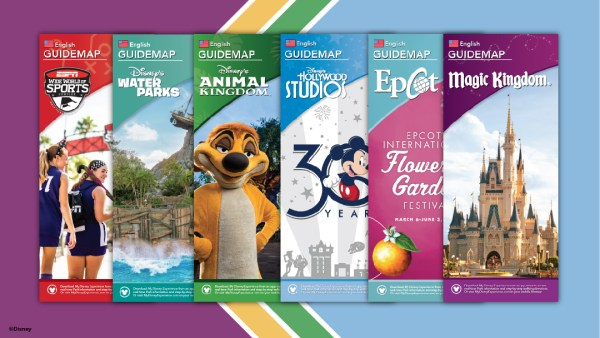 Updated Guidemaps Headed to Walt Disney World Theme Parks!