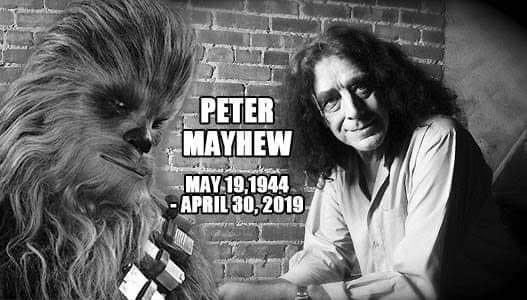 Original Chewbacca Actor, Peter Mayhew, Passes Away at Age 74