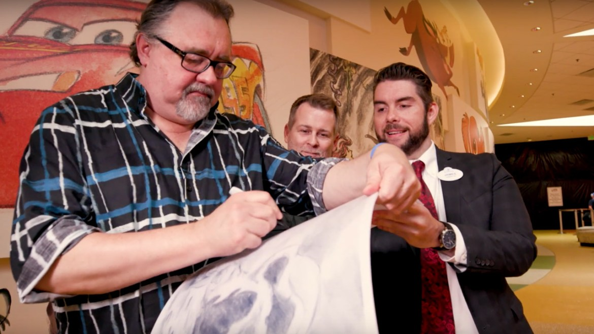 "Producer of Disney's ""The Lion King"" Don Hahn Keeps Up Tradition at Art of Animation Resort"