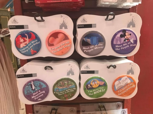 Disney Addiction Buttons