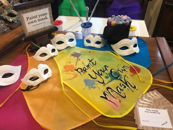 New Paint-Your-Own-Mask Activity at Epcot