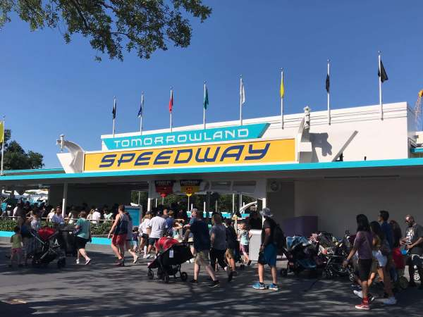 Tomorrowland Speedway has now reopened