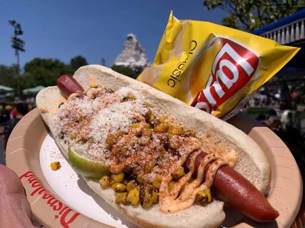 Elote Hot Dog