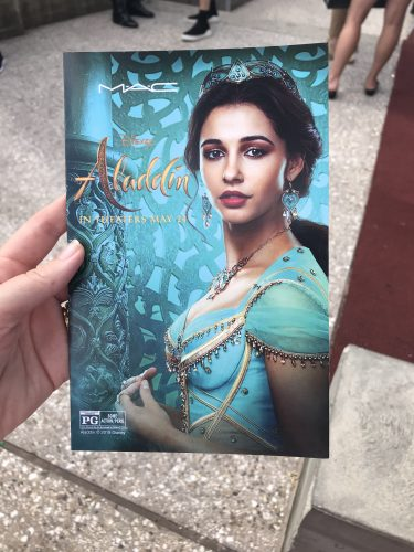 New Aladdin Collection by MAC Cosmetics Arrives at Disney Springs 5