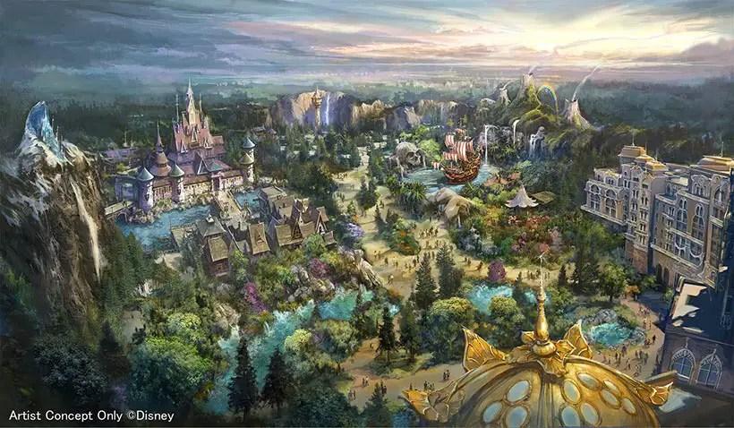 """Tokyo DisneySea """"Fantasy Springs"""" Expansion"""