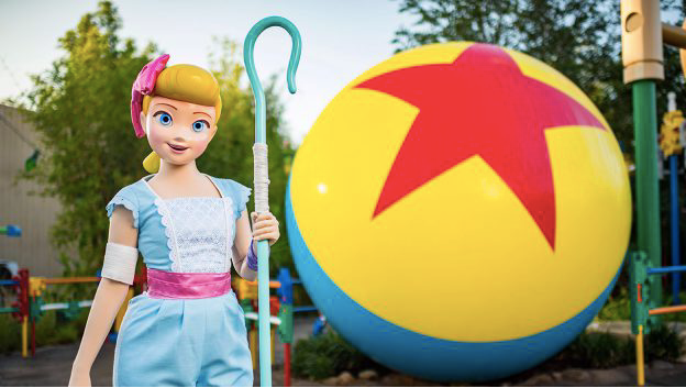 Bo Peep is now greeting guests at Disney's Hollywood Studios!