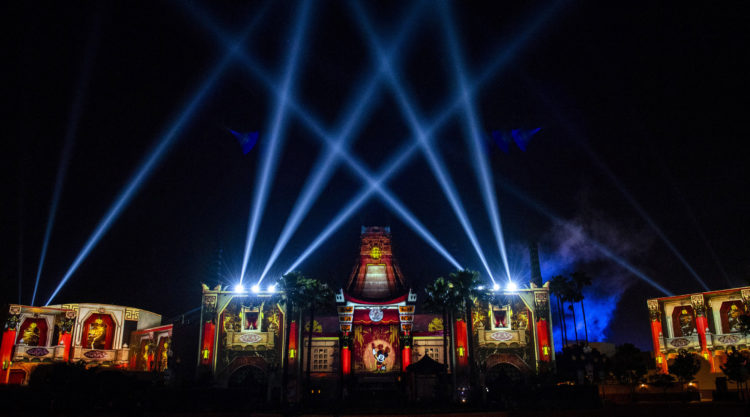 New Nighttime Projection Show at Disney's Hollywood Studios