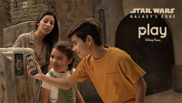 Explore Black Spire Outpose with Your Star Wars: Datapad on Play Disney Parks App.