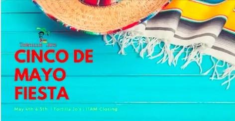 Celebrate Cinco de Mayo at Tortilla Jo's in Downtown Disney!