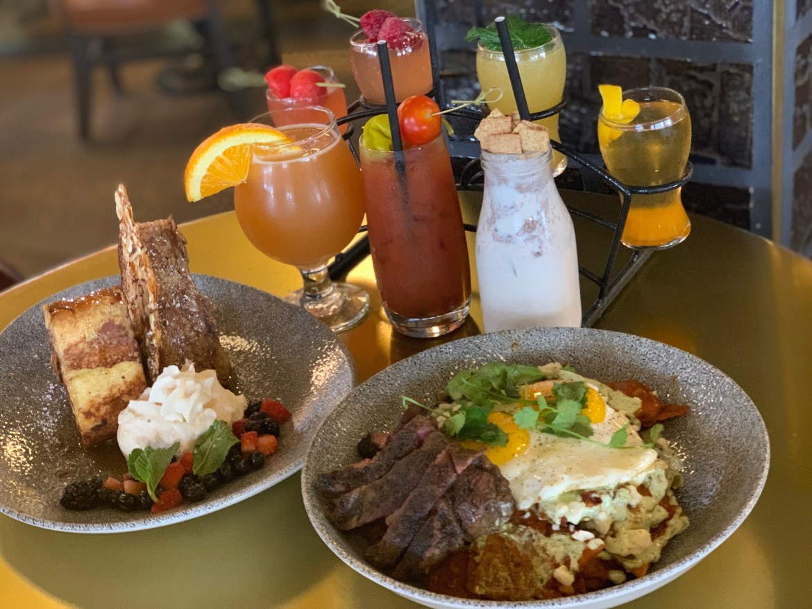 Brunch at Lamplight Lounge at Disney California Adventure Park
