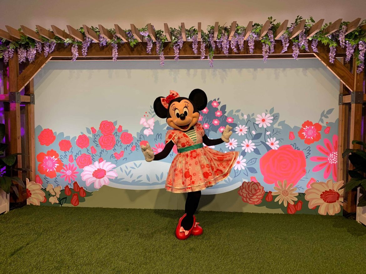 Minnie's Garden Party Meet and Greet Available at Epcot for a Limited Time
